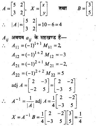 MP Board Class 12th Maths Book Solutions Chapter 4 सारणिक Ex 4.6 15