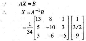 MP Board Class 12th Maths Book Solutions Chapter 4 सारणिक Ex 4.6 18