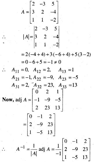 MP Board Class 12th Maths Book Solutions Chapter 4 सारणिक Ex 4.6 29