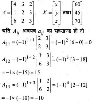 MP Board Class 12th Maths Book Solutions Chapter 4 सारणिक Ex 4.6 32