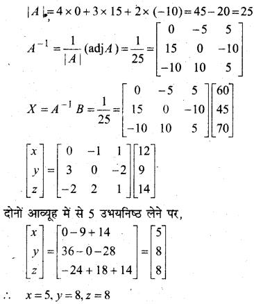 MP Board Class 12th Maths Book Solutions Chapter 4 सारणिक Ex 4.6 34