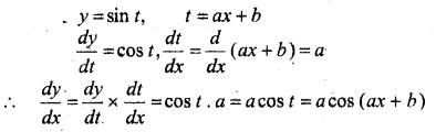 MP Board Class 12th Maths Book Solutions Chapter 5 सांतत्य तथा अवकलनीयता Ex 5.2 3