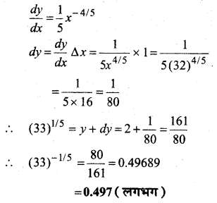 MP Board Class 12th Maths Book Solutions Chapter 6 अवकलज के अनुप्रयोग विविध प्रश्नावली 2