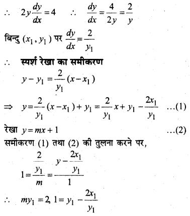 MP Board Class 12th Maths Book Solutions Chapter 6 अवकलज के अनुप्रयोग विविध प्रश्नावली 43