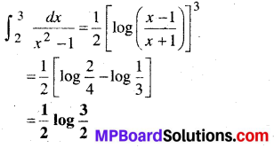 MP Board Class 12th Maths Book Solutions Chapter 7 समाकलन Ex 7.9 10