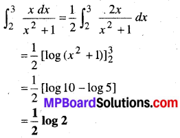 MP Board Class 12th Maths Book Solutions Chapter 7 समाकलन Ex 7.9 13