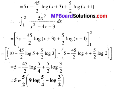 MP Board Class 12th Maths Book Solutions Chapter 7 समाकलन Ex 7.9 18