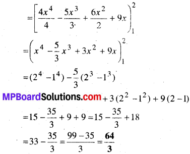 MP Board Class 12th Maths Book Solutions Chapter 7 समाकलन Ex 7.9 2