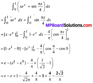 MP Board Class 12th Maths Book Solutions Chapter 7 समाकलन Ex 7.9 23