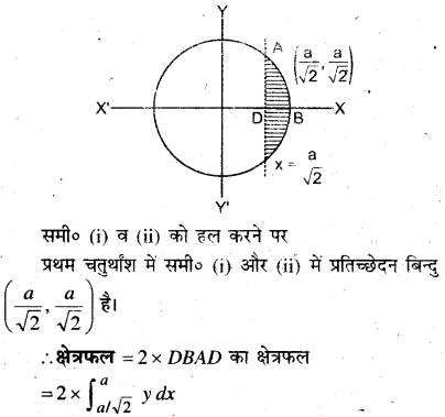 MP Board Class 12th Maths Book Solutions Chapter 8 समाकलनों के अनुप्रयोग Ex 8.1 9
