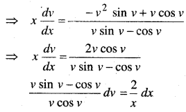 MP Board Class 12th Maths Book Solutions Chapter 9 अवकल समीकरण Ex 9.5 19