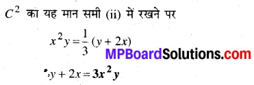 MP Board Class 12th Maths Book Solutions Chapter 9 अवकल समीकरण Ex 9.5 31