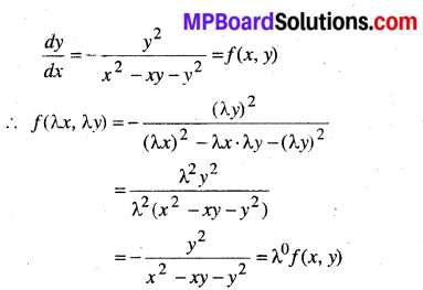 MP Board Class 12th Maths Book Solutions Chapter 9 अवकल समीकरण Ex 9.5 39