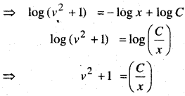 MP Board Class 12th Maths Book Solutions Chapter 9 अवकल समीकरण Ex 9.5 9