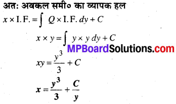 MP Board Class 12th Maths Book Solutions Chapter 9 अवकल समीकरण Ex 9.6 15
