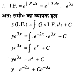 MP Board Class 12th Maths Book Solutions Chapter 9 अवकल समीकरण Ex 9.6 2