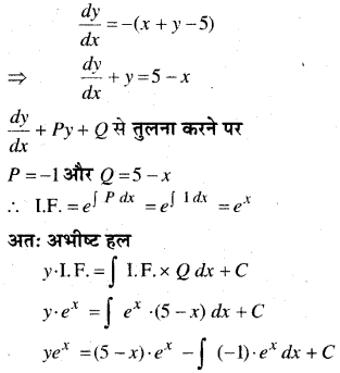 MP Board Class 12th Maths Book Solutions Chapter 9 अवकल समीकरण Ex 9.6 24