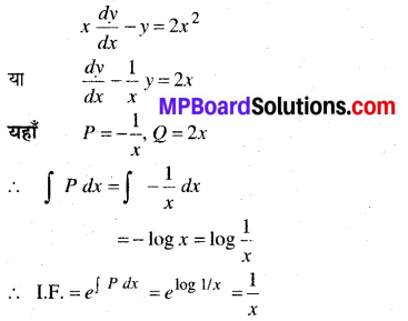 MP Board Class 12th Maths Book Solutions Chapter 9 अवकल समीकरण Ex 9.6 25