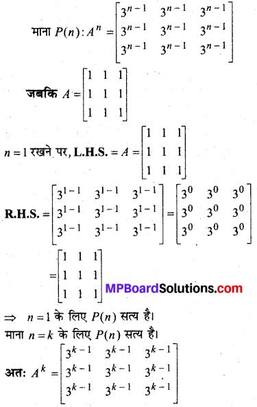 MP Board Class 12th Maths Solutions Chapter 3 आव्यूह विविध प्रश्नावली 5