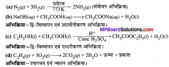 MP Board Class 10th Science Solutions Chapter 1 रासायनिक अभिक्रियाएँ एवं समीकरण 13