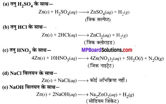 MP Board Class 10th Science Solutions Chapter 1 रासायनिक अभिक्रियाएँ एवं समीकरण 21