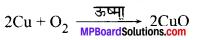 रासायनिक अभिक्रिया एवं समीकरण MP Board