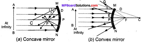 MP Board Class 10th Science Solutions Chapter 10 Light Reflection and Refraction 1