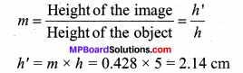 MP Board Class 10th Science Solutions Chapter 10 Light Reflection and Refraction 13