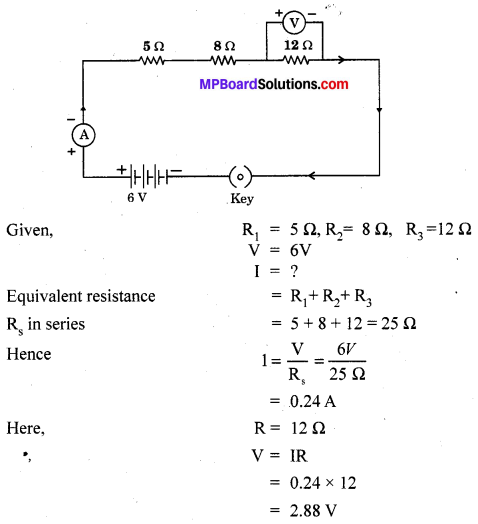 MP Board Class 10th Science Solutions Chapter 12 Electricity 2