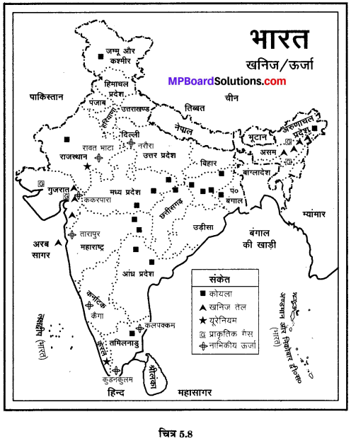 MP Board Class 10th Social Science Solutions Chapter 5 मानचित्र पठन एवं अंकन 12.