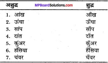 MP Board Class 11 General Hindi व्याकरण अशुद्ध गद्यांश की भाषा का परिमार्जन img-9