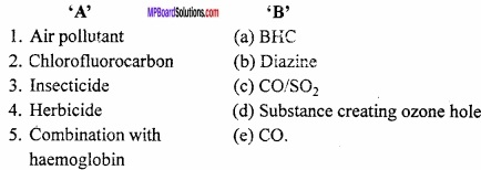MP Board Class 11th Chemistry Important Questions Chapter 14 Environmental Chemistry img 2