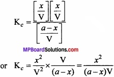 MP Board Class 11th Chemistry Important Questions Chapter 7 Equilibrium img 14