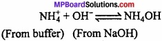 MP Board Class 11th Chemistry Important Questions Chapter 7 Equilibrium img 16