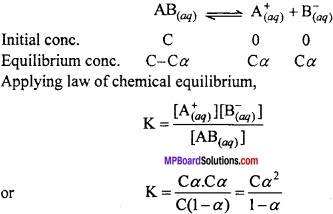 MP Board Class 11th Chemistry Important Questions Chapter 7 Equilibrium img 24