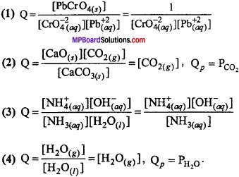 MP Board Class 11th Chemistry Important Questions Chapter 7 Equilibrium img 5