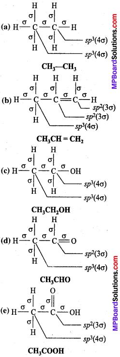 MP Board Class 11th Chemistry Solutions Chapter 4 रासायनिक आबंधन तथा आण्विक संरचना - 61