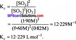 MP Board Class 11th Chemistry Solutions Chapter 7 साम्यावस्था - 1