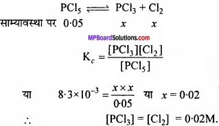 MP Board Class 11th Chemistry Solutions Chapter 7 साम्यावस्था - 15