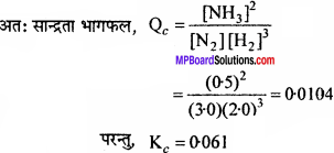 MP Board Class 11th Chemistry Solutions Chapter 7 साम्यावस्था - 17