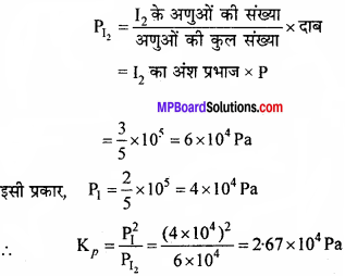MP Board Class 11th Chemistry Solutions Chapter 7 साम्यावस्था - 2