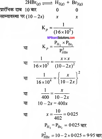 MP Board Class 11th Chemistry Solutions Chapter 7 साम्यावस्था - 21