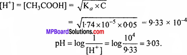 MP Board Class 11th Chemistry Solutions Chapter 7 साम्यावस्था - 37