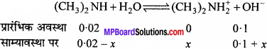 MP Board Class 11th Chemistry Solutions Chapter 7 साम्यावस्था - 50