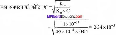 MP Board Class 11th Chemistry Solutions Chapter 7 साम्यावस्था - 60