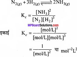 MP Board Class 11th Chemistry Solutions Chapter 7 साम्यावस्था - 80