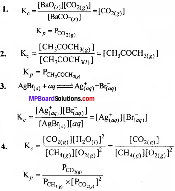 MP Board Class 11th Chemistry Solutions Chapter 7 साम्यावस्था - 92