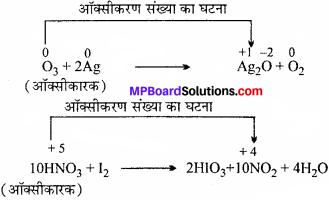 MP Board Class 11th Chemistry Solutions Chapter 8 अपचयोपचय अभिक्रियाएँ - 17