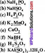 MP Board Class 11th Chemistry Solutions Chapter 8 अपचयोपचय अभिक्रियाएँ - 2