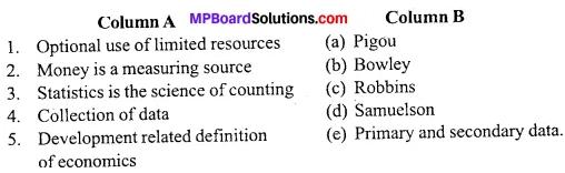 MP Board Class 11th Economics Important Questions Unit 1 Statistics for Economics Introduction img 1